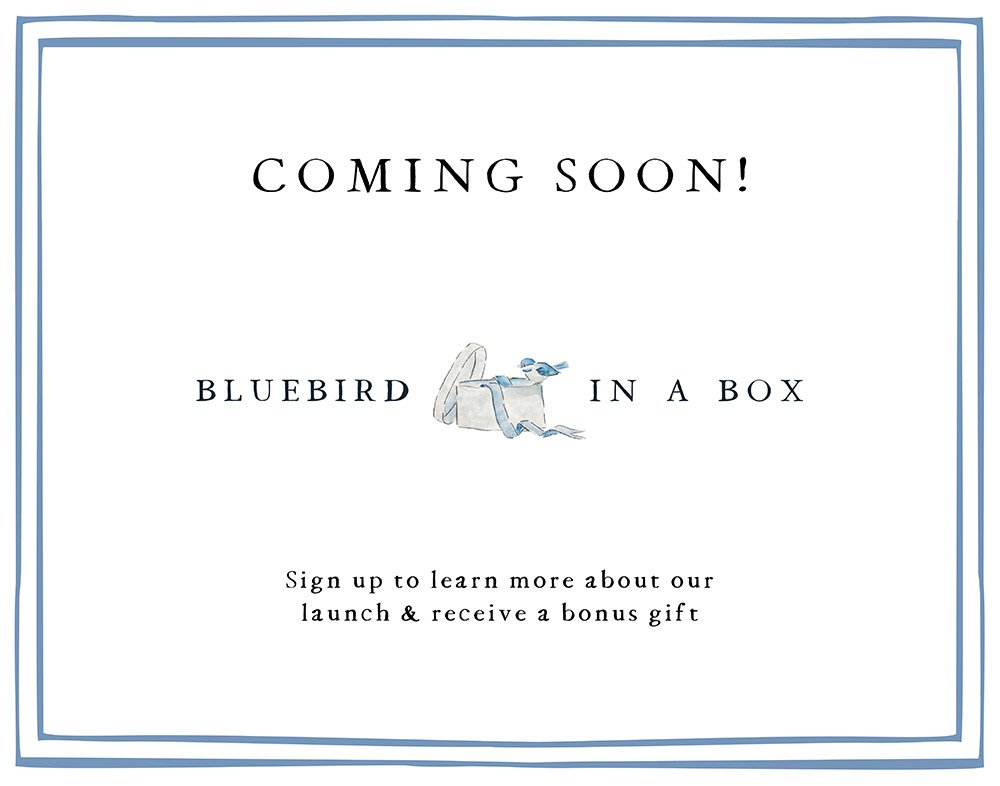 Coming Soon Bluebird In A Box