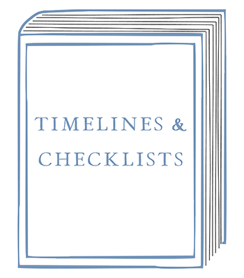 Timelines & Checklists