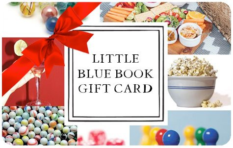 Little Blue Book Gift Card